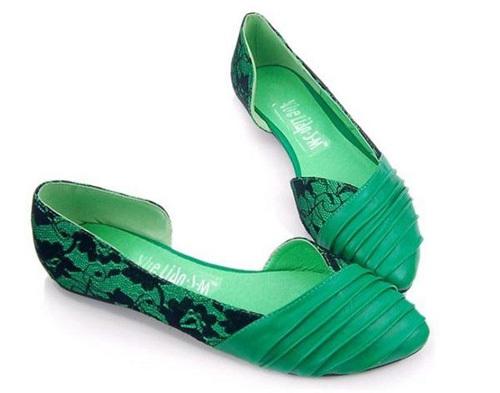 Chọn giày búp bê theo phong cách - 5