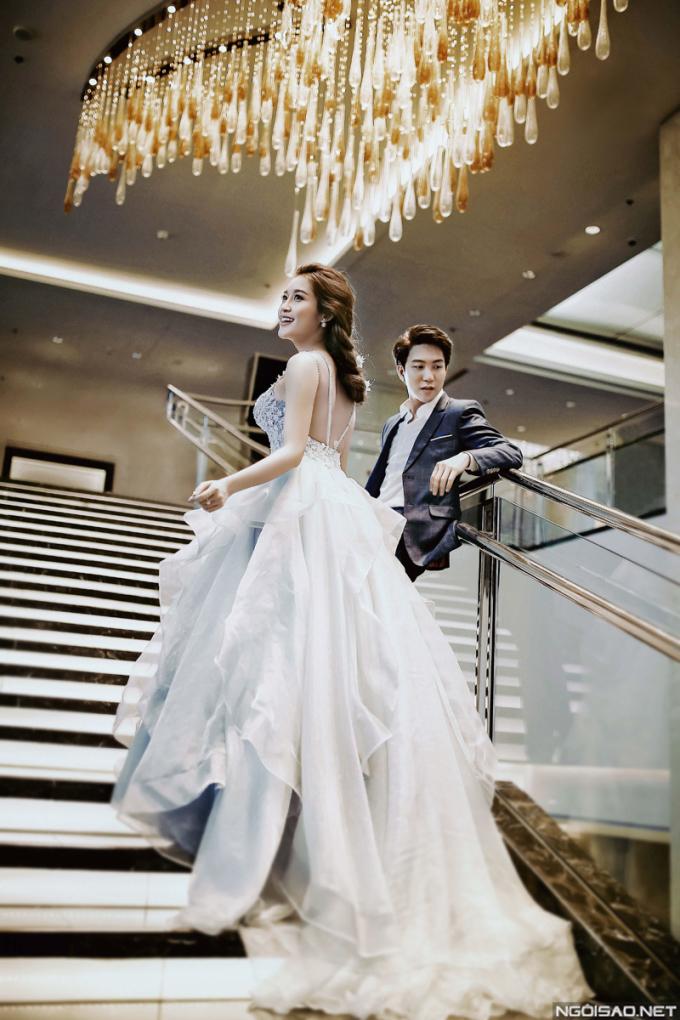 <p> Hình ảnh Huyền My lộng lẫy như nàng công chúa Cinderella.</p>