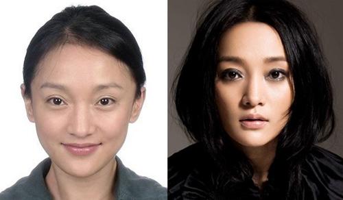 <p> Khó có thể tin được Châu Tấn đã bước qua tuổi 40. Khuôn mặt tươi trẻ và làn da căng mịn giúp mỹ nhân 'Họa bì' trông trẻ hơn rất nhiều so với tuổi thật.</p>