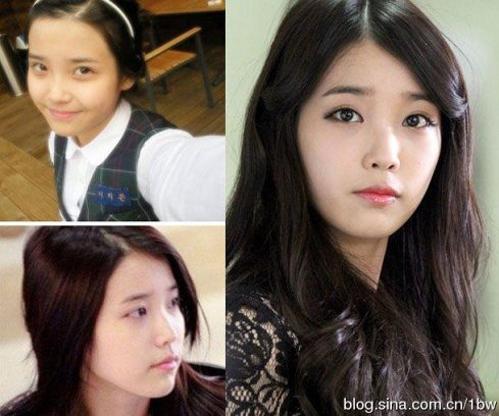 <p> IU luôn nằm trong top những 'Nữ hoàng mặt mộc xứ Hàn'. Nhiều người nhận xét, cô để mặt mộc còn xinh đẹp hơn cả khi trang điểm.</p>