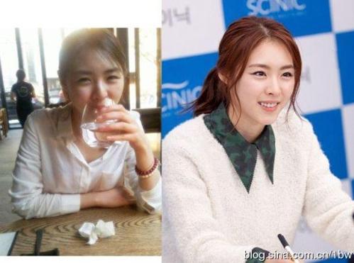 <p> Lee Yeon Hee luôn tươi tắn, trẻ trung dù có trang điểm hay không.</p>