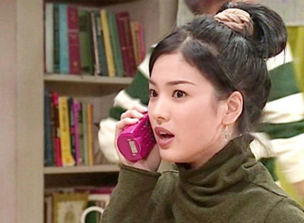 Trong bộ phim sitcom Soonpoong Clinic năm 1999, Song Hye Kyo