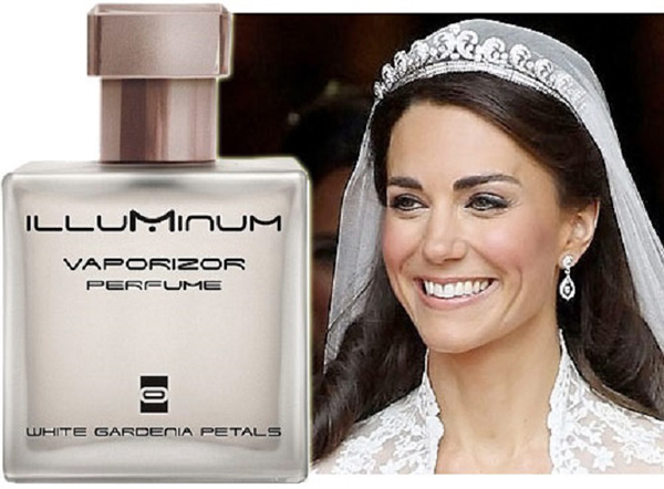 Công nương Kate sử dụng nước hoa White Gardenia Petals của Illuminum.