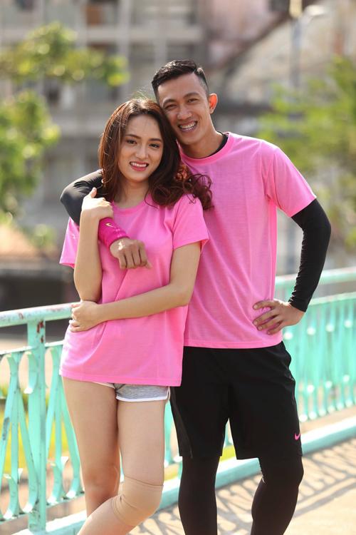 Hương Giang với bạn trai một thời Criss Lai.