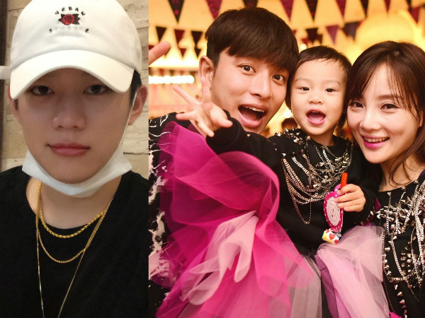 Dù chồng đẹp con khônnhưng Lý Tiểu Lộ vẫn ngoại tình với rapper PG One (bên trái).