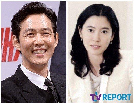 Lee Jung Jae và người yêu.