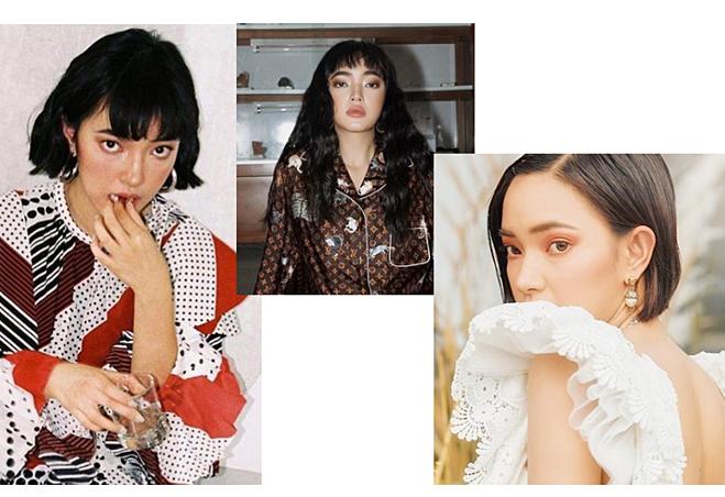 Gu trang điểm hợp tóc ngắn của Châu Bùi, Khánh Linh