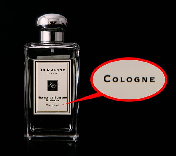 Eau de Cologne trước đây thường được dùng để chỉ mùi hương dành cho nam giới.