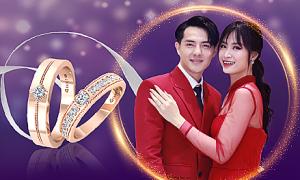 DOJI khuyến mại 100 cặp nhẫn cưới giá 4.999.999 đồng