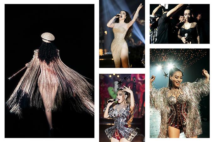 Chung Thanh Phong thiết kế loạt trang phục cho Thu Minh tại show I am Diva.