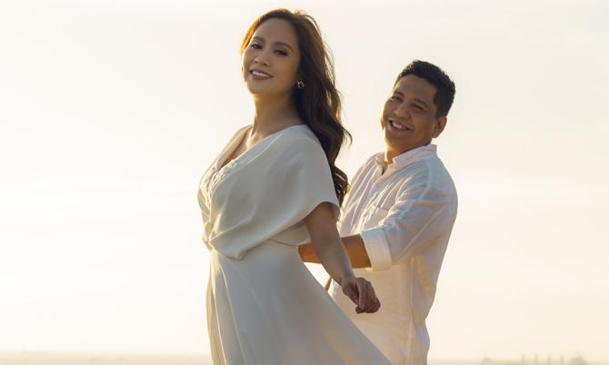 Thanh Thúy - Đức Thịnh chụp lại ảnh cưới