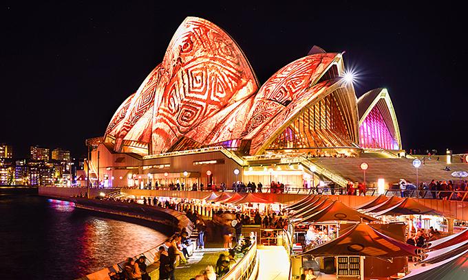 Lễ hội ánh sáng ở Sydney