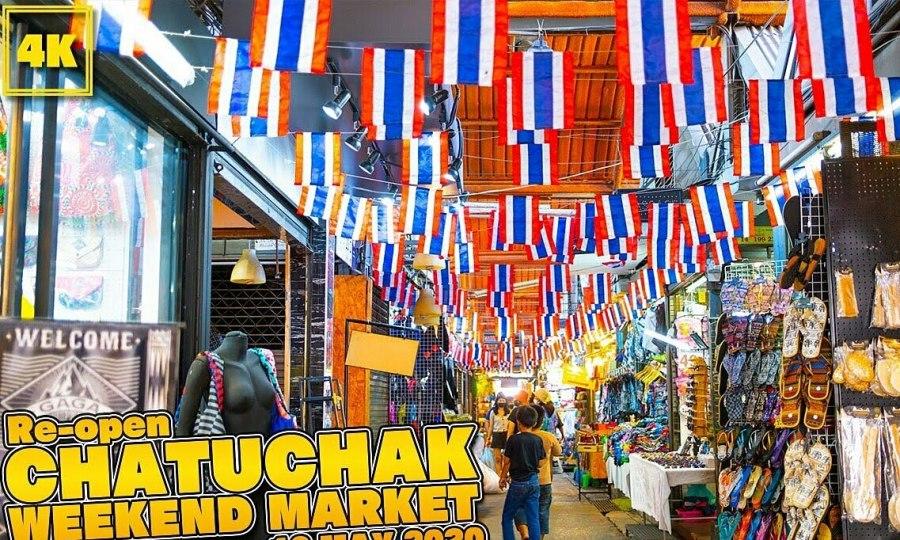 Chợ Chatuchak mở cửa trở lại