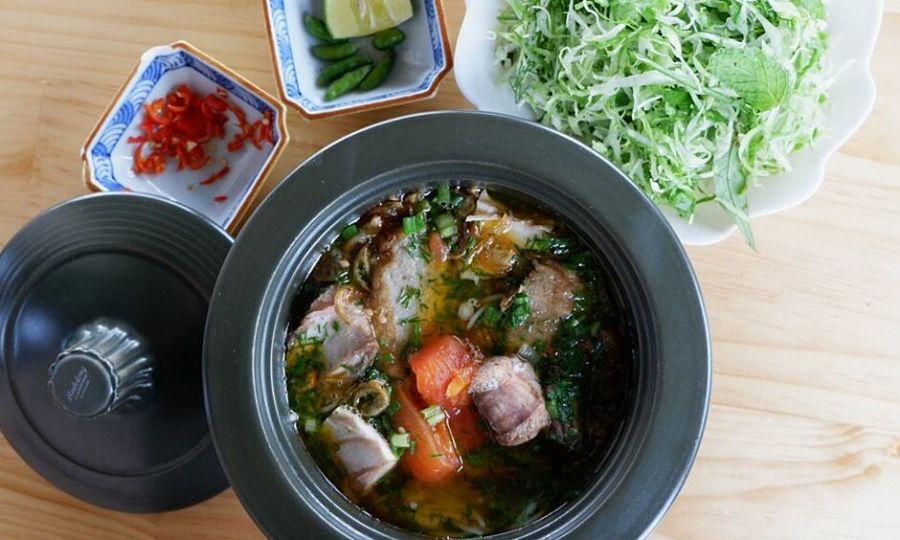 Đổi vị bữa sáng với món bún cá ngừ