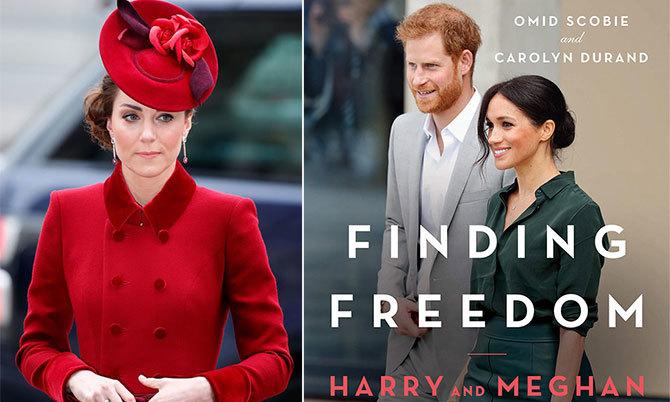 Kate đau lòng trước những điều được viết trong Finding Freedom