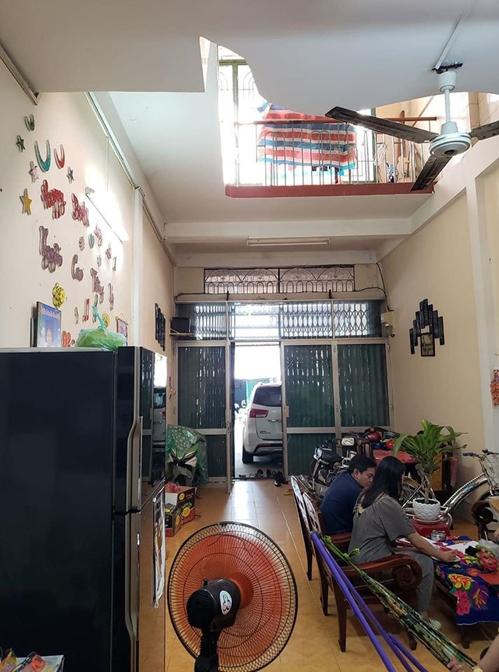 Phòng khách trước cải tạo.