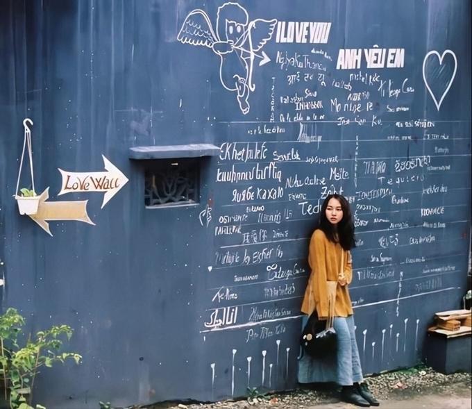 Bức tường tỏ tình ở Đà Lạt
