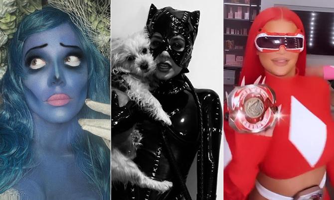 Sao Hollywood hóa trang dịp Halloween