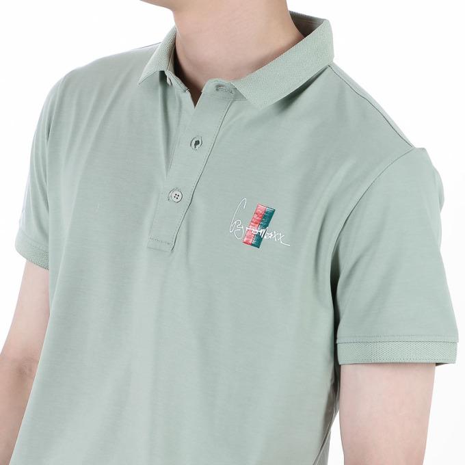 Áo thun Polo Jonny Son PL39 may từ chất liệu cotton co giãn 4 chiều, có khả năng hút ẩm, thấm mồ hôi. Kiểu dáng cổ bẻ phối nút gài, tay ngắn, dáng suông mang đến phong cách nam tính, mạnh mẽ. Áo có nhiều màu trắng, xanh biển, xanh đen... các size M, L, XL, XXL. Dịp cuối tuần, áo bán ưu đãi 47%, còn 159.000 đồng.