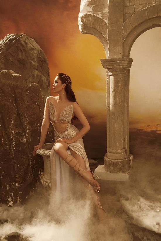Chi Pu, Ngọc Trinh mặc váy hở bạo của Đỗ Long - 8