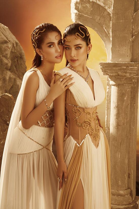 Chi Pu, Ngọc Trinh mặc váy hở bạo của Đỗ Long - 10