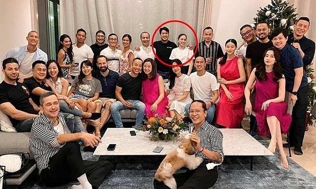Linh Rin dự tiệc cùng bạn thân của Phillip Nguyễn
