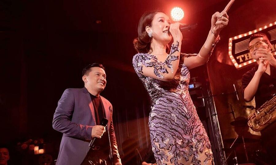 Thu Phương hội ngộ Lam Trường tại 'Si The Show'