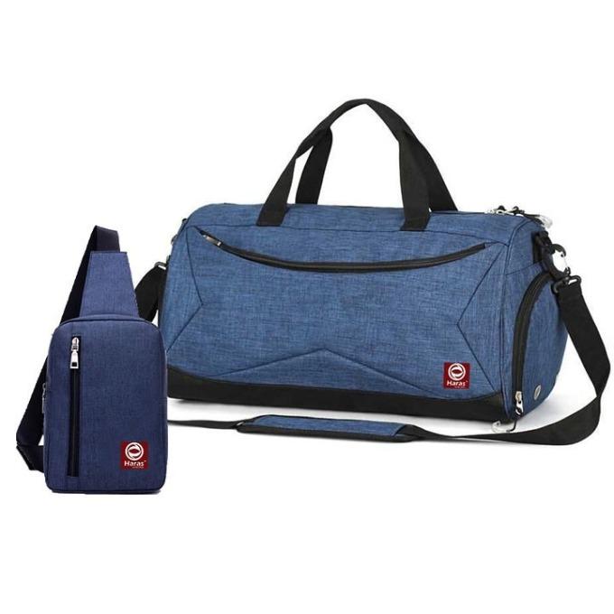 Bộ túi du lịch thời trang HR246 và túi đeo chéo HARAS HR147 - Đen - 10 5 5 2 đánh giá 243.333đ179.000 Túi Thời Trang HARAS được gia công bằng chất liệu vải Oxford chất lượng cao, khó phai màu và bền bỉ. Bạn sẽ dễ dàng bảo quản và sử dụng được khá lâu.