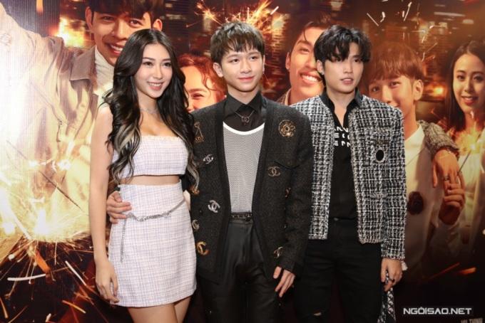 Dàn nghệ sĩ đến mừng Đỗ Hoàng Dương, Cody Uni5 ra mắt web-drama - 2