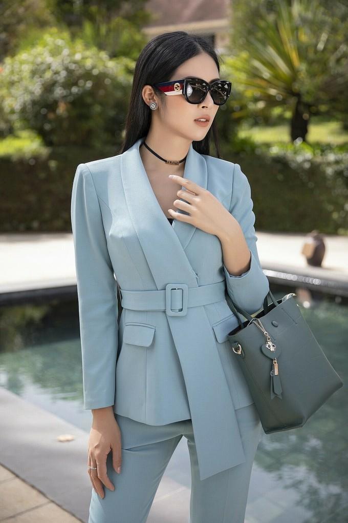 Hoa hậu Ngọc Hân là cổ đông lớn của hệ thống cầm đồ T99. Ảnh: NH.