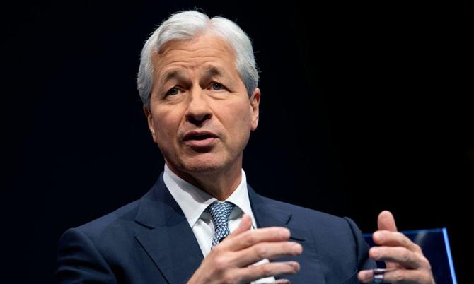 CEO JPMorgan Jamie Dimon. Ảnh: CNN.