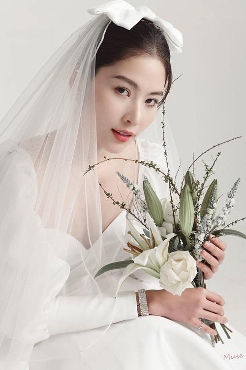 Nam Anh sinh đẹp khi làm cô dâu.