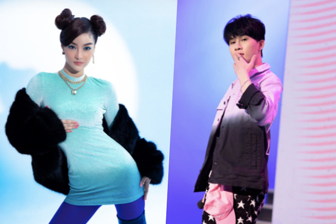 Lona Kiều Loan - ứng viên hạng mục Mỹ nhân của năm và Jack - ứng viên hạng mục Nam ngôi sao âm nhạc.
