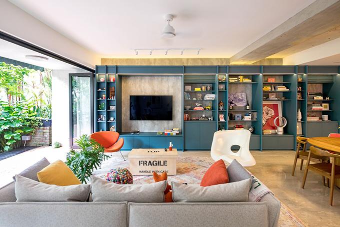 Công trình được cải tạo với sự hiểu biết kỹ càng về cách gia chủ hình dung về không gian sống, chú ý tới chi tiết và cung cấp giải pháp bền vững cho nhà ở.