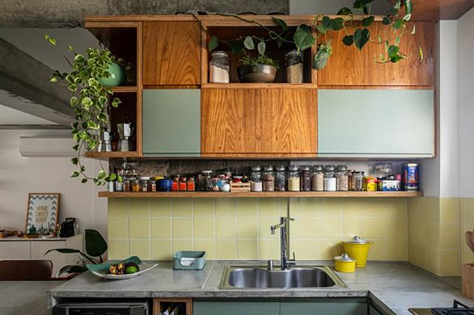 Gia chủ trồng thêm cây để không gian nhà ở bớt buồn tẻ.