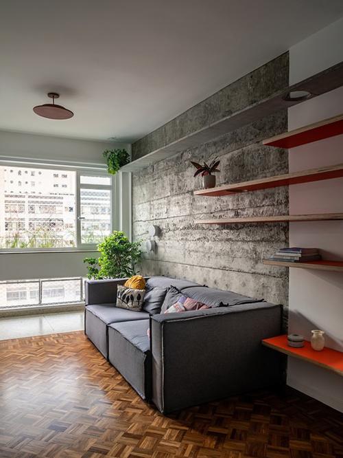 Căn hộ có diện tích 90 m2 ở Sao Paulo, Brazil được cải tạo năm 2019 bởi nhóm kiến trúc sư (KTS) của Teresa Mascaro.
