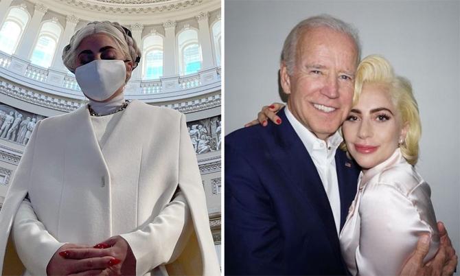 Lady Gaga chuẩn bị biểu diễn tại lễ nhậm chức tổng thống
