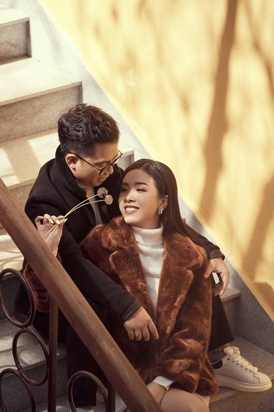 Á hậu Thúy An tình tứ bên chồng tiến sĩ ở Đà Lạt - 14