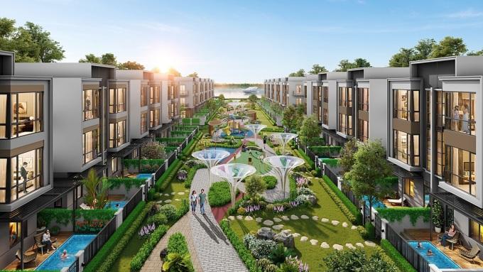 Chuỗi tiện ích đẳng cấp góp phần nâng tầm phong cách sống tại đô thị đảo Phượng Hoàng. Ảnh: Novaland.