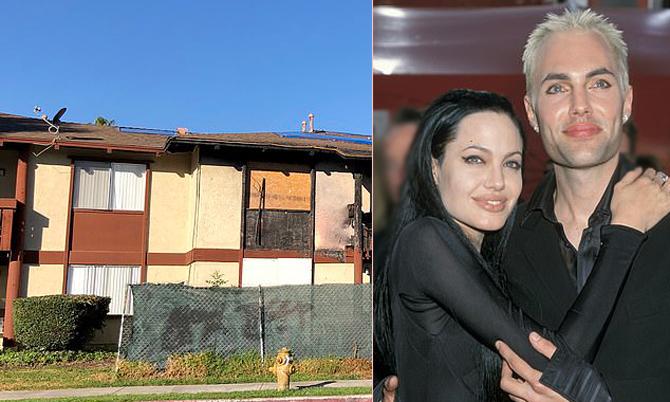 Anh trai Angelina Jolie sống cùng bạn gái trong chung cư cũ nát