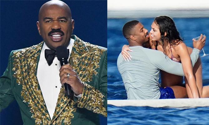 MC Miss Universe canh chừng bạn trai của con gái
