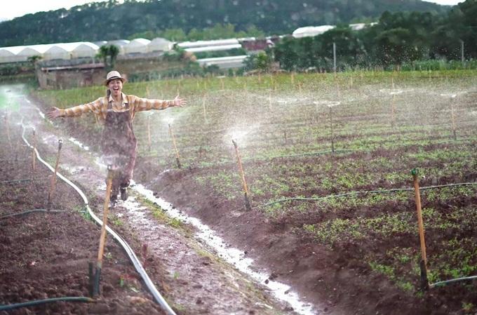 Kim Thư lên Đà Lạt làm nông dân - 4