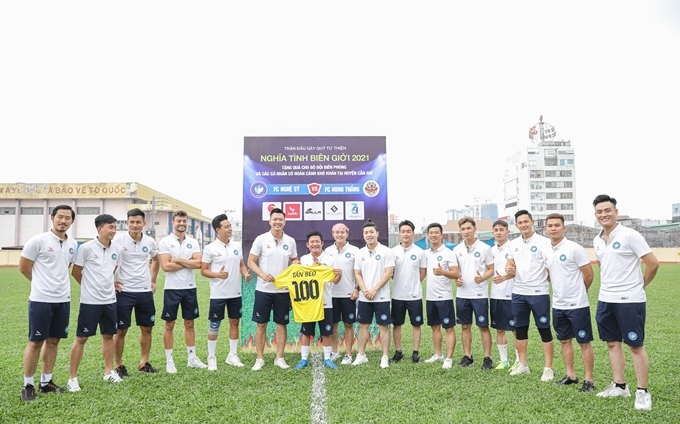 Đội bóng của Hồ Đức Vĩnh gây quỹ 50 triệu đồng - 6