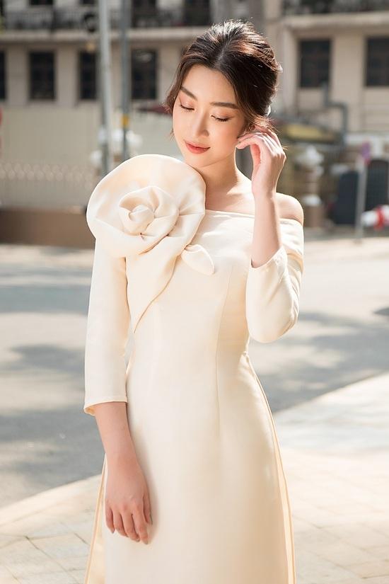 Đỗ Mỹ Linh, Tiểu Vy diện áo dài đôi du xuân - 2