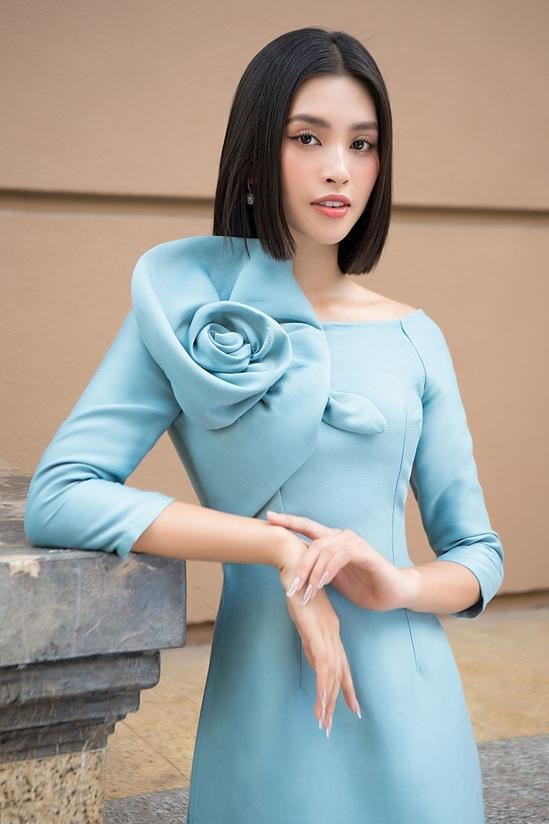 Đỗ Mỹ Linh, Tiểu Vy diện áo dài đôi du xuân - 4