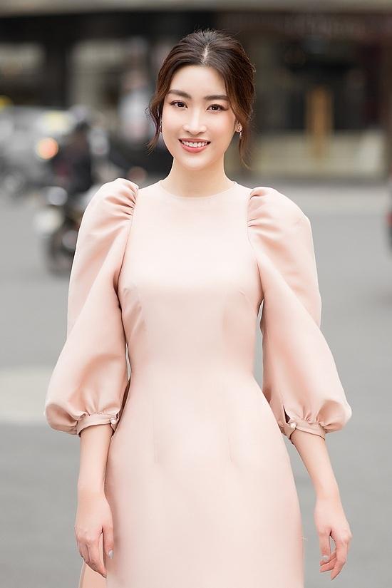Đỗ Mỹ Linh, Tiểu Vy diện áo dài đôi du xuân - 10