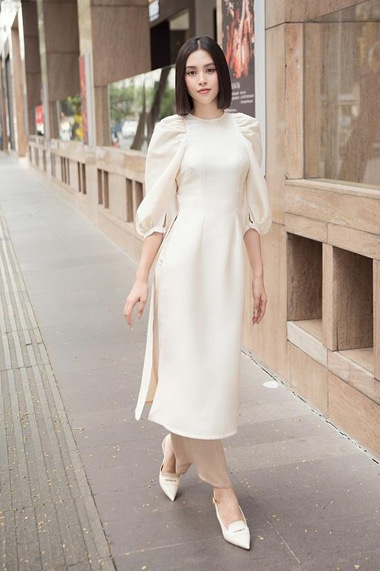 Đỗ Mỹ Linh, Tiểu Vy diện áo dài đôi du xuân - 12