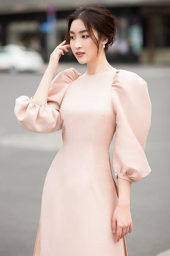 Đỗ Mỹ Linh, Tiểu Vy diện áo dài đôi du xuân - 14