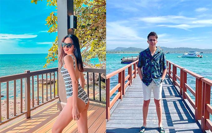 Đêm giao thừa, Hương Giang Idol cùng bạn trai Matt Liu tới Phú Quốc để tổ chức tiệc đếm ngược với hội bạn thân. Khu resort cô lựa chọn toạ lạc ở vị trí đặc biệt, xung quanh có hệ sinh thái phong phú, nhiều cây cối rậm rạp, gần gũi thiên nhiên.