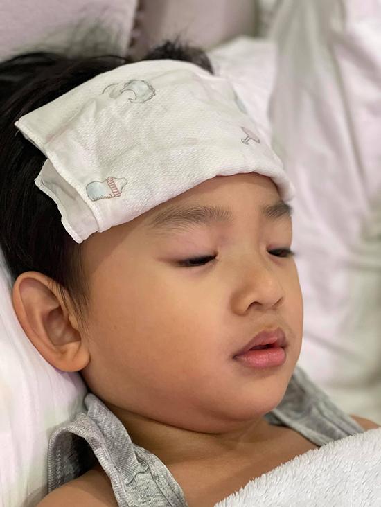 Bé Bảo Bảo - con trai hai tuổi của Thuý Diễm và Lương Thế Thành.